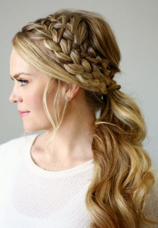 hairstyle-semi-gathered-with-braided-headband