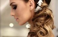wedding-hairstyles-images-2016-semi-gathered